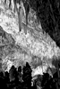 Images of Carlsbad Caverns National Park World Heritage Site, New MexicoImage no: 17-021079-bw   Click HERE to Add to Cart