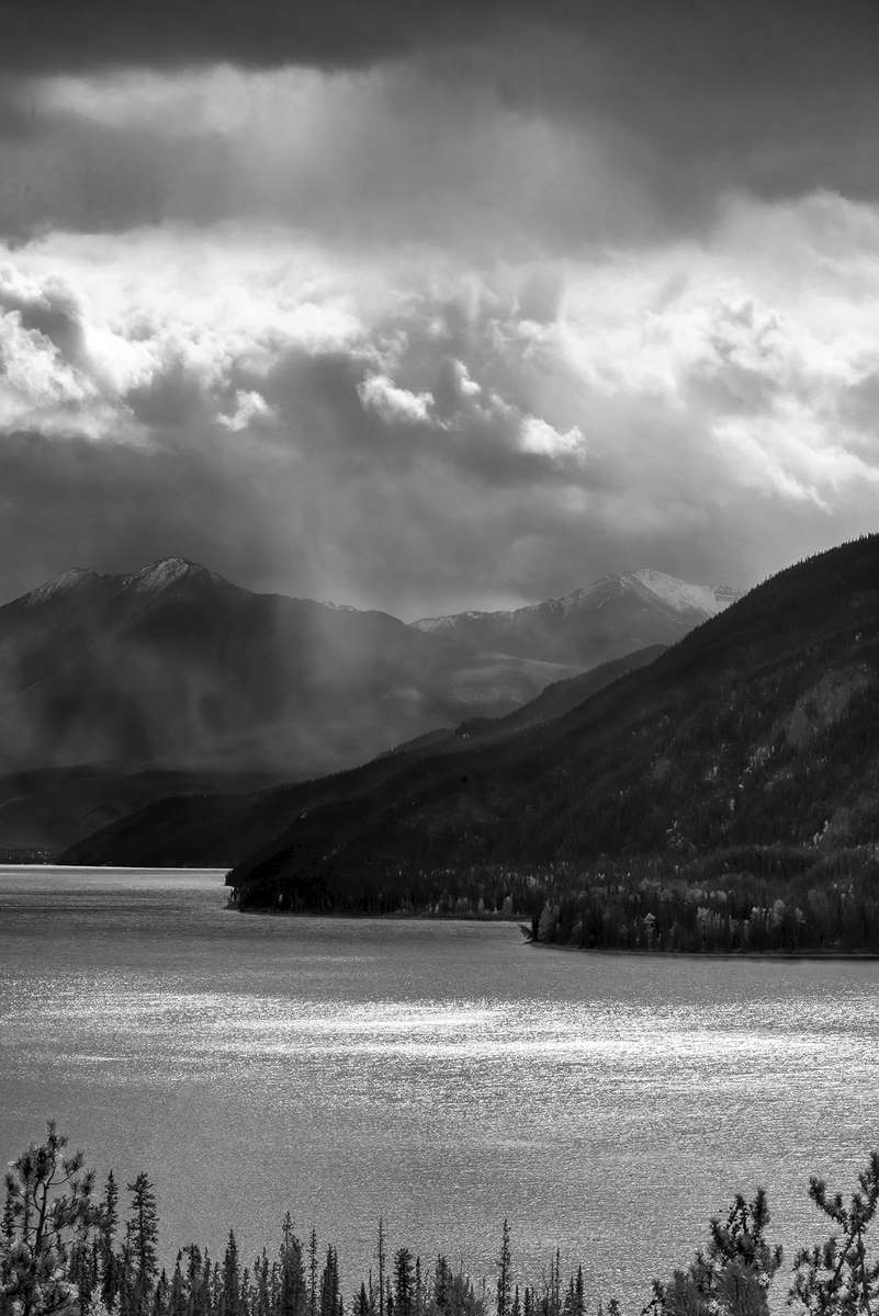 Highway 97 (Alaska Highway) British ColumbiaImage no: 16-312098-bw  Click HERE to Add to Cart