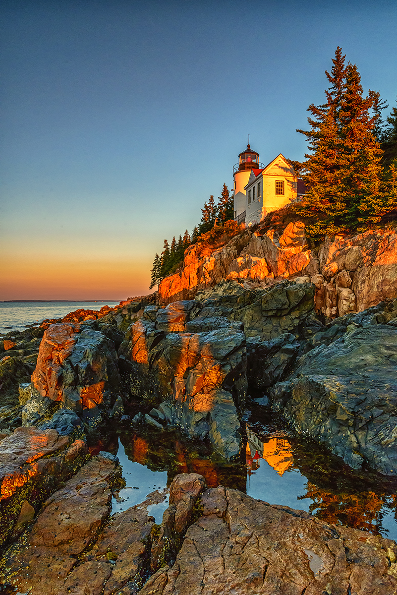Bass Harbor, MaineImage no: 14-022515   Click HERE to Add to Cart