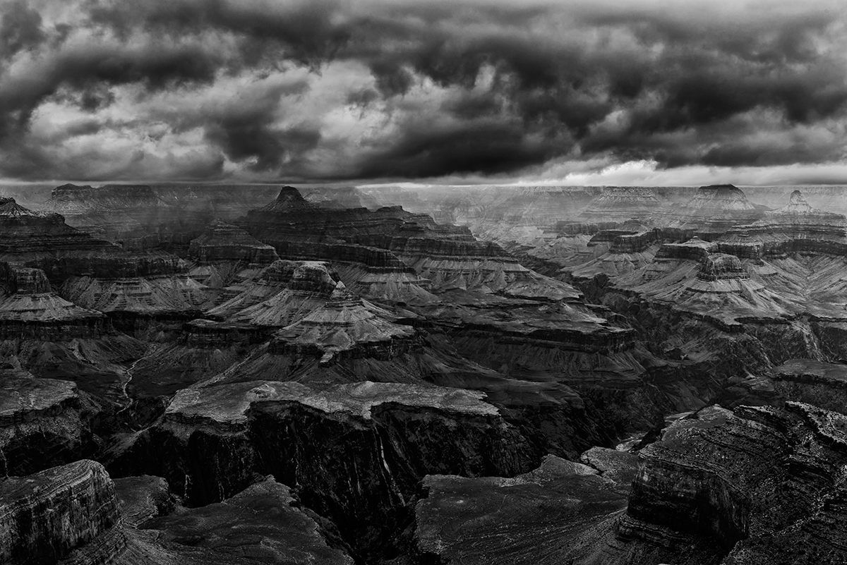 South Rim, Arizona, USAImage No. 13-000130-bw  Click HERE to Add to Cart