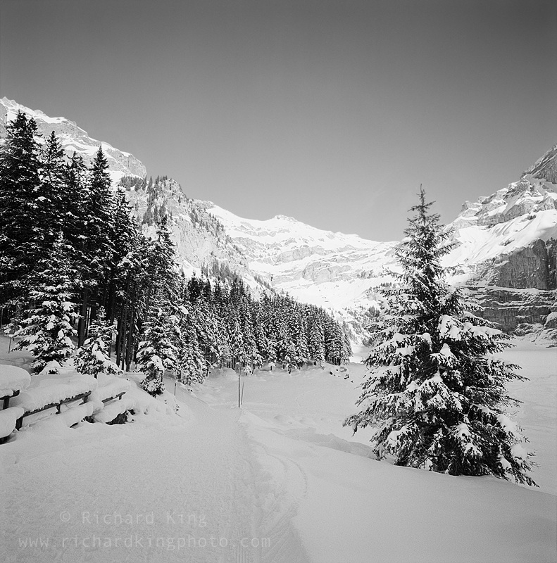 Frozen LakeKandersteg, Berner Oberland,Alps, SwitzerlandImage no: 060111.08Click HERE to Add to Cart
