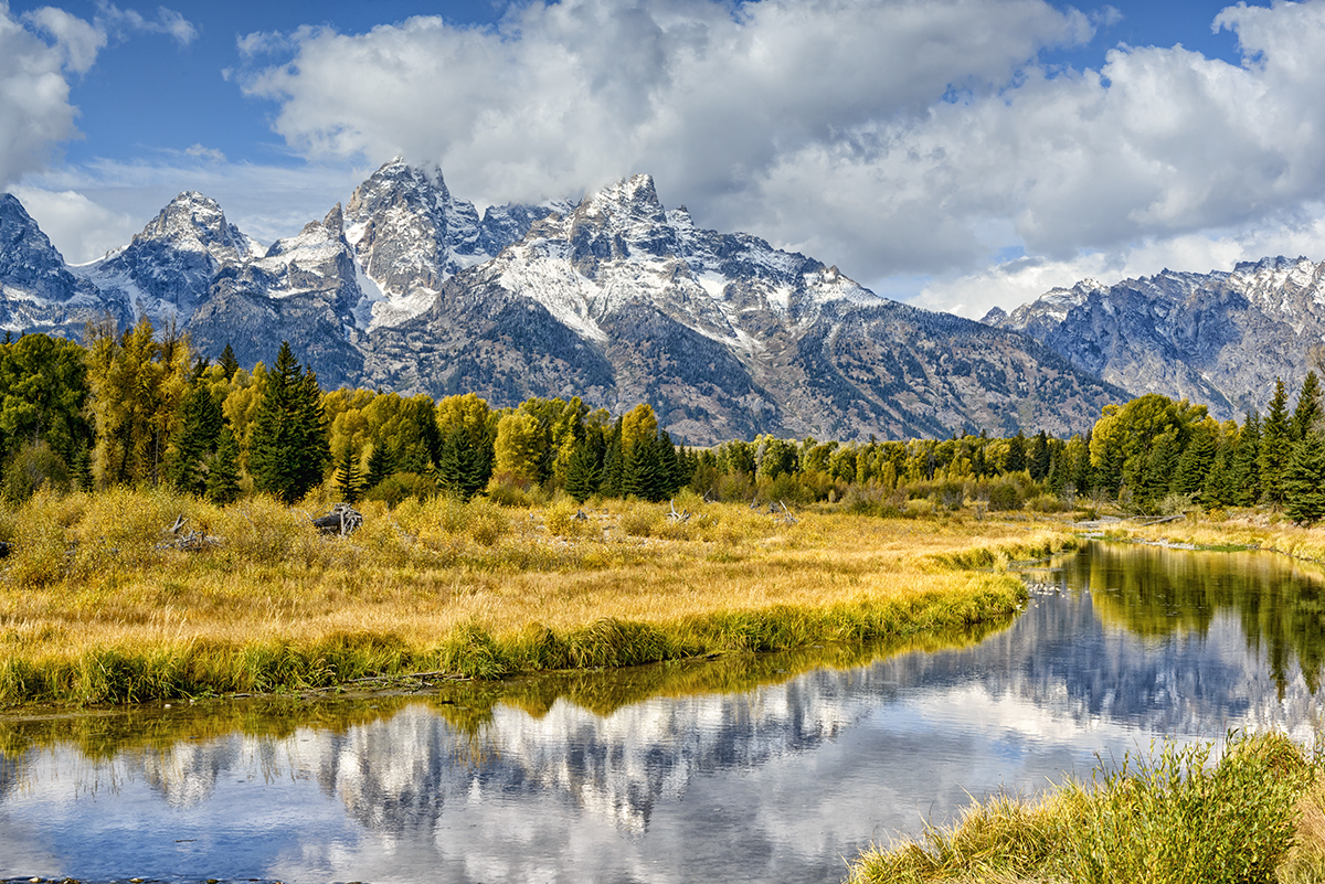 Grand Tetons overlooking the Snake RiverImage no: 17-018190   Click HERE to Add to Cart