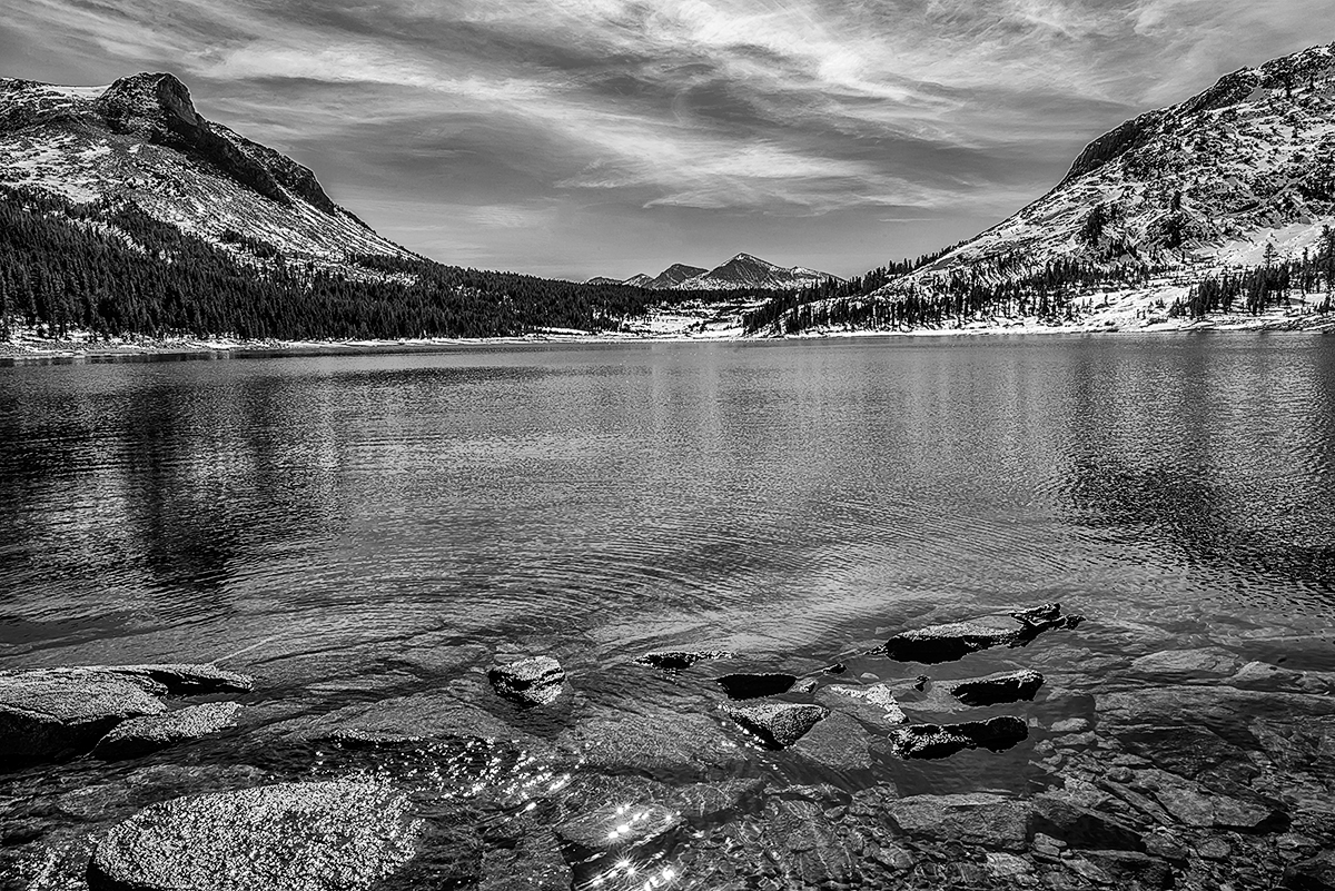 Tioga Pass, Eastern Sierra Nevada, California<i>Image No: 12-033304.bw  </i><b><i><u>Click HERE to Add to Cart</u></i></b></a>