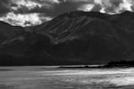 Seward Highway Near Anchorage, Alaska, USAImage no: 16-030270-bw  Click HERE to Add to Cart