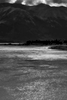 Seward Highway Near Anchorage, Alaska, USAImage no: 16-030271-bw  Click HERE to Add to Cart