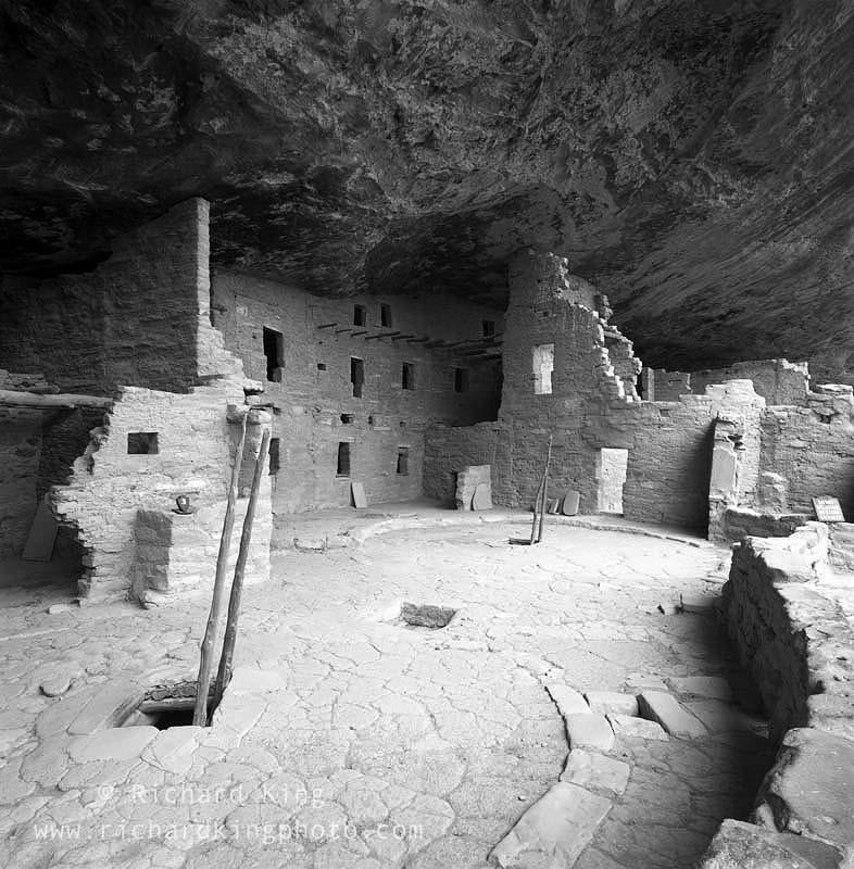 Anasazi Ruin, Spruce Tree House,Mesa Verde National Park,Colorado, USA, fine art print, giclee, pigment-on-paper, http://www.photoshelter.com/c/richardkingphoto/image/I0000gFaPHgAAGNU