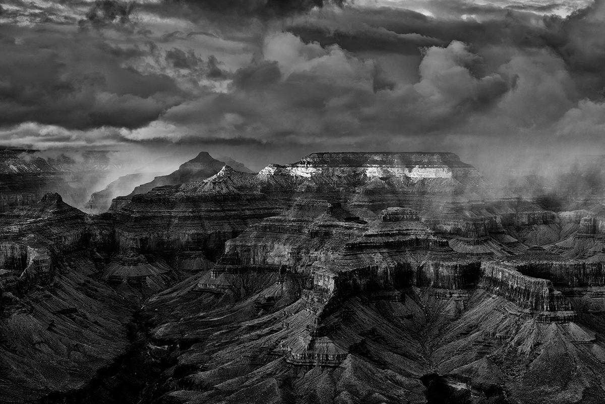 South Rim, Arizona, USAImage No. 13-000833-bw  Click HERE to Add to Cart