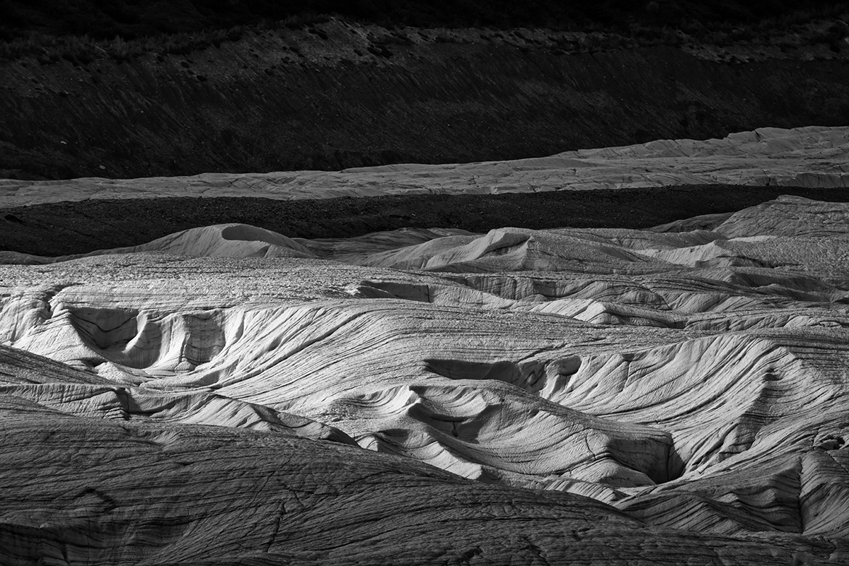 Largest US Glacial SystemKennecott, AlaskaImage no: 16-027888-bw   Click HERE to Add to Cart