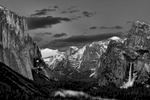 Winter Landscape photographs of Yosemite National ParkImage No: 17-003281-bw  Click HERE to Add to Cart