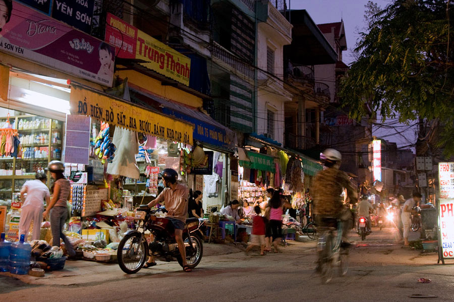 At a small narrow street in Vietnam, my 2 other cameras were set on timelapse. Having a third camera is a good thing when you can grab shots while the timelapses are left undisturbed.