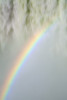 Late afternoon and the mistbow appears at the lower portion of the Devil's Throat. It was gone in minutes when a thick cloud came in.