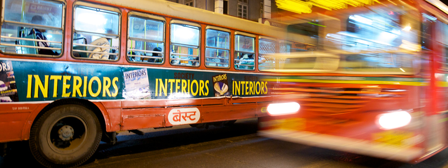 The one thing that is never going to be lacking in India is colour. Even the buses were rich with vibrant reds and greens. Had to wait by the street for 2 buses to enter the frame with one of them moving while the other stayed put.