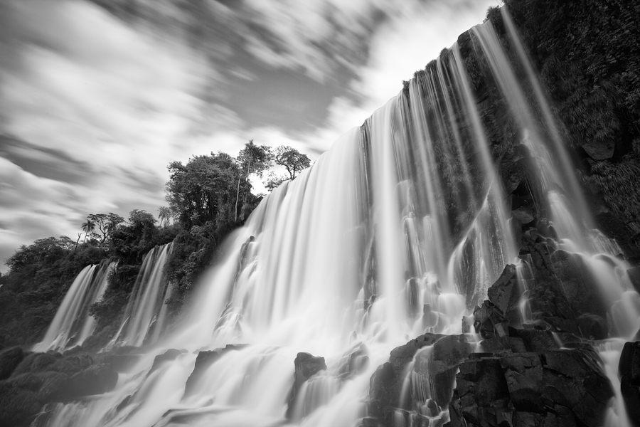 Salto Bossetti is one of the more prominent waterfalls in the massive region of Iguazu. A Lee Big Stopper was used to bring the shutter speed down to 1 minute.