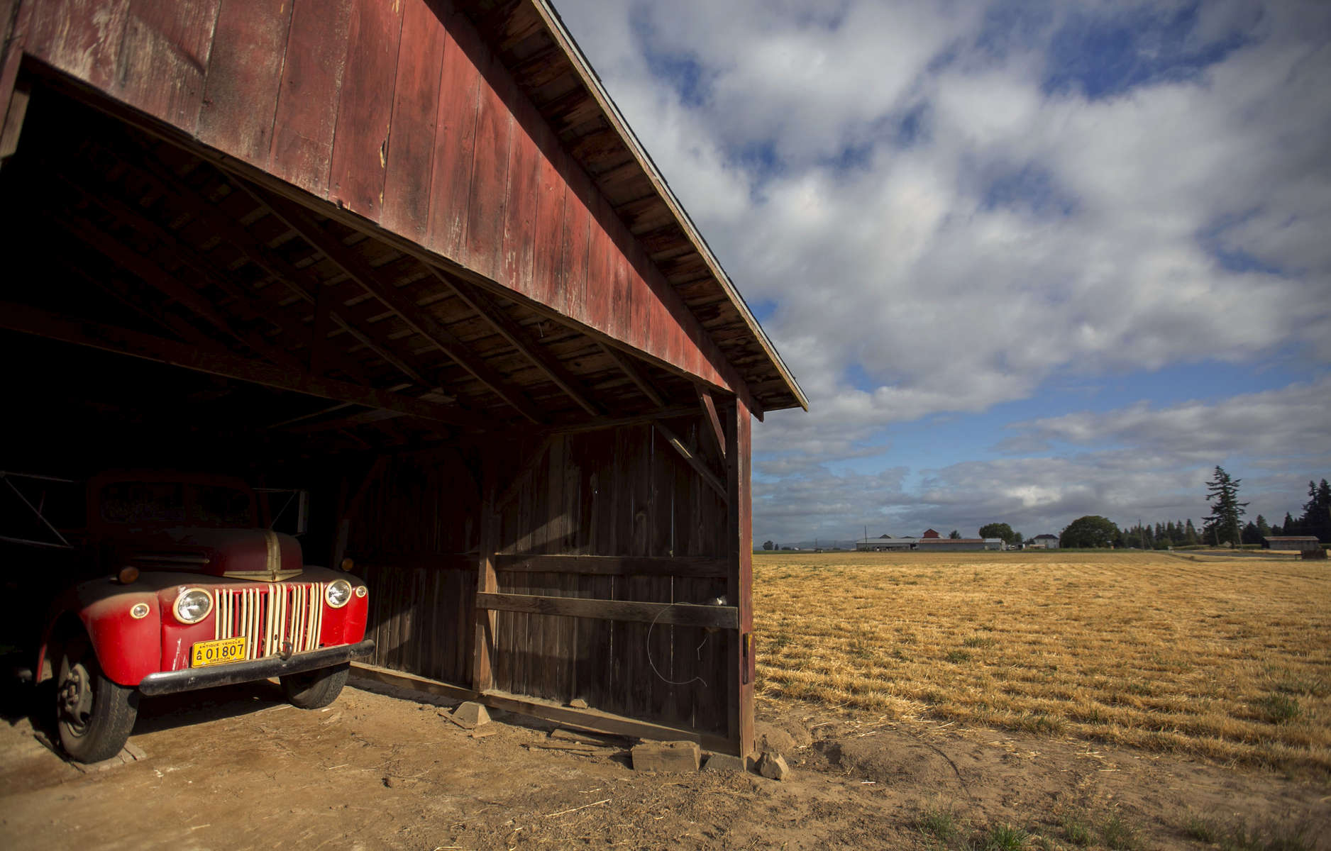 The Taghon farm in Cornelius was founded in 1915 by Theophile Cappoen, and is now owned by Theophile's great-great-grandson Joe Finegan and his wife Jennifer. The farm recently qualified as a Century Farm and the Finegans will accept the award at the end of August.Kristyna Wentz-Graff / Staff