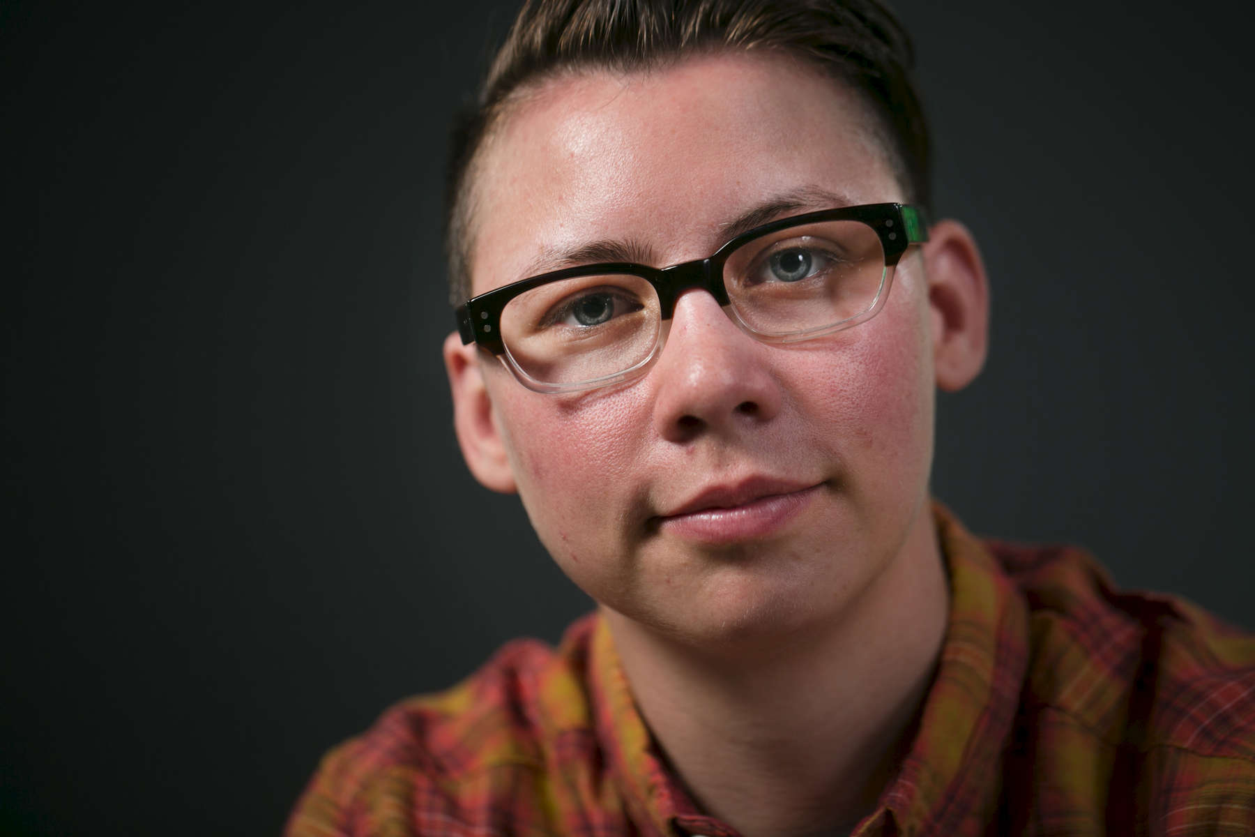 Grey Osten, 30, software engineer, Portland. {quote}Once I figured out that trans people existed and that was a thing that I could do, I still had a lot of trouble accepting how I wanted to go about transitioning, because I felt like there was only one right way to do that--you have to do things in this order and you have to have these surgeries and have to take these hormones and have to do all this stuff. In reality, it's a continuum. You can pick and choose what pieces are important to you. This is a choose your own adventure game.{quote}Kristyna Wentz-Graff/Staff