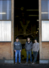 Mike Redmond (left), with his sons Blake (center) and Joseph at Creative Woodworking NW Inc in the Central Eastside of Portland.