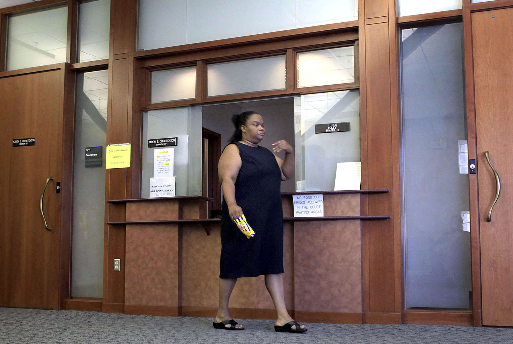 After the boys lived with their mother for one month, they were again removed from her custody and placed in foster care. Court records show that there were reported episodes of violence, verbal abuse and chaos in the home. Brandy storms out of Children's Court without attending the hearing placement and the courts must now determine how to find permanence for the boys once again.