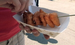 Wisconsin State fair---the place where you can find just about anything deep-fried and on a stick. This year's newest member in the fried-food line up is macaroni and cheese.