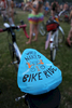 People gather at Colonel Summers Park in Southeast Portland for the World Naked Bike Ride on June 27, 2015. Kristyna Wentz-Graff/Staff