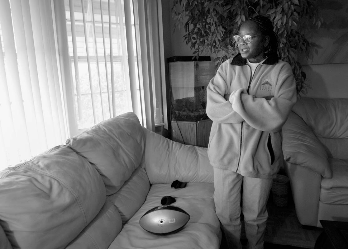 {quote}I just want my boy home,{quote} says grandmother and guardian of missing child Quadrevion Henning, 12. She stands for hours at the front window of her home, Quadrevion's football lying right on the couch where he left it.