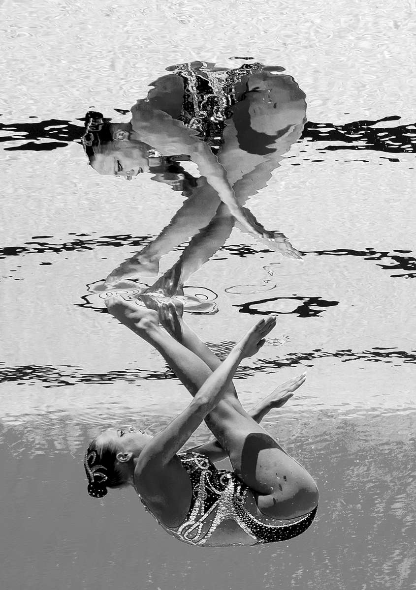 Jacqueline Simoneau of Canada competes during the Synchronised Swimming Solo Free Final on day six of the Budapest 2017 FINA World Championships on July 19, 2017 in Budapest, Hungary