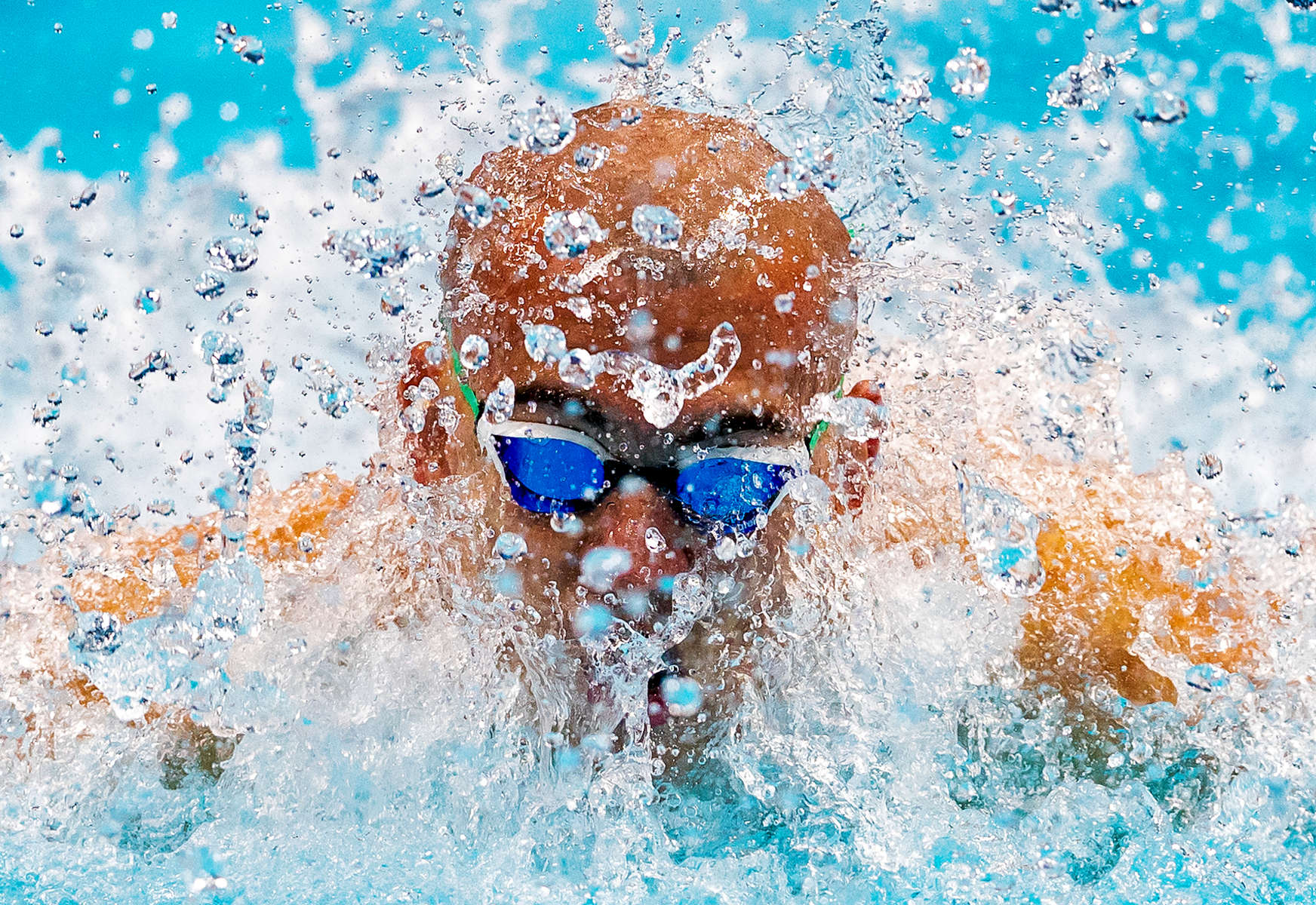 Laszlo Cseh of Hungary competes during the Men's 100m Butterfly heats on day fifteen of the Budapest 2017 FINA World Championships on July 28, 2017 in Budapest, Hungary.