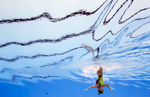 Ona Carbonell of Spain competes during the Womens Synchro Solo Technical, final on day two of the Budapest 2017 FINA World Championships on July 15, 2017 in Budapest, Hungary.