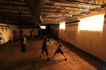 Recreational boxer Raheem Yusuff (left) spars with three time New York Golden Gloves boxer Anthony Lopez  during training session in a warehouse that was once Jetty gym on July 30, 2020 in Oceanside, New York. Dennis Guerrero, who is a co owner of Jetty has tried to hold many types of outdoor and open air workouts while the gym remains closed due to the coronavirus pandemic.  Since all gyms in New York had been closed since March 13, they have been trying to keep up financially to sustain the gym. Guerrero and his partner Michael Levitz have decided to closed their doors for good next week.  They will be moving their workouts online and at select locations.  Governor Andrew Cuomo announced that gyms will not be permitted to reopen during phase 4 until New York's Health Department determines if air filtering systems are circulating the coronavirus. More than 4,540,000 people in the United States alone have been infected with the coronavirus and at least 154,000 have died.