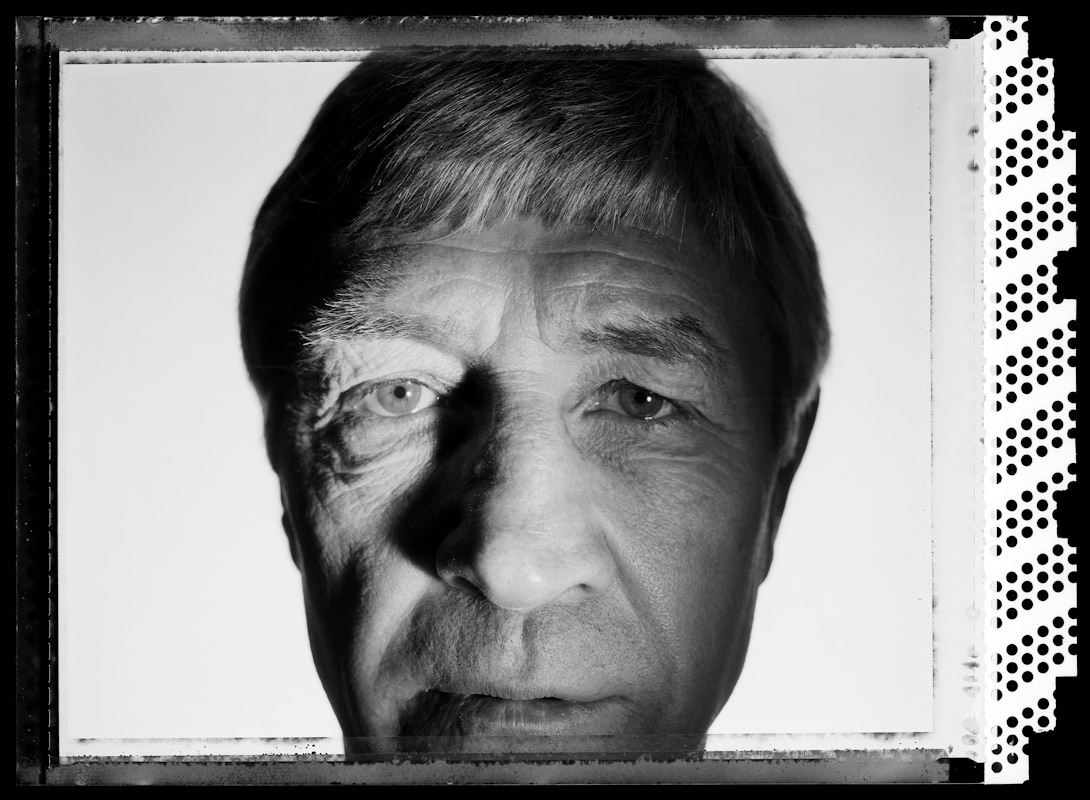 Ken Buchanan, former World Lightweight champion poses for a portrait on June 11, 2005 at The International Boxing Hall of Fame in Canastota, New York.  He fought from 1965-1982.  He is 60 years old at the time of this photo.