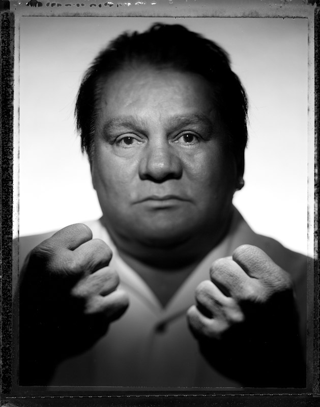 Former Lightweight, Welterweight, Jr. Middleweight and Middleweight Champion Roberto Duran poses during the International Boxing Hall of Fame Induction weekend on June 9, 2007 in Canastota, New York