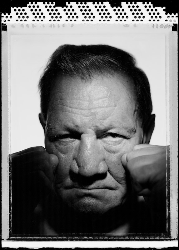 Henny Wallitch, former heavyweight contender poses for a portrait on May 16, 2005 at The Waterfront Crabhouse in Long Island City, New York.  Wallitch fought from 1957-1967.