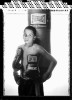 Jose Gonzalez Jr. poses at Sonny's Gym  on August 24, 2005  in Jersey City, New Jersey.  He is 12 years old at the time of this photo and has not had an amateur fight as of yet.