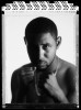 Diego Corrales, WBC Lightweight Champion poses for a portrait on June 11, 2005 at The International Boxing Hall of Fame in Canastota, New York.  He started his pro career in 1996 and is presently active.  He is 27 years old at the time of this photo.