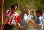 Competitors participate in the Fedeiguayas Soccer League on May 27, 2007 at Flushing Meadows Park in Queens, NY.