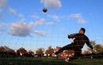Competitors participate in sudden death overtime of the 40 yrs and over Golden League  final on November 10, 2007 at Flushing Meadows Park in Queens, New York.