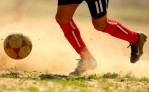 A Competitor participates in the Fedeiguayas Soccer League on May 27, 2007 at Flushing Meadows Park in Queens, NY.