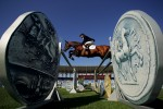 Daniel Meech of New Zealand competes in the individual show jumping event on August 24, 2004 during the Athens 2004 Summer Olympic Games at the Markopoulo Olympic Equestrian Centre Jumping Arena in Athens, Greece.