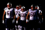 he New England Patriots prepare to take the field prior to the game against the New York Jets at MetLife Stadium on November 27, 2016 in East Rutherford, New Jersey.
