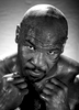 Former Heavyweight Champion Mike Tyson poses at the Central Boxing Club on May 27 in Phoenix Arizona.