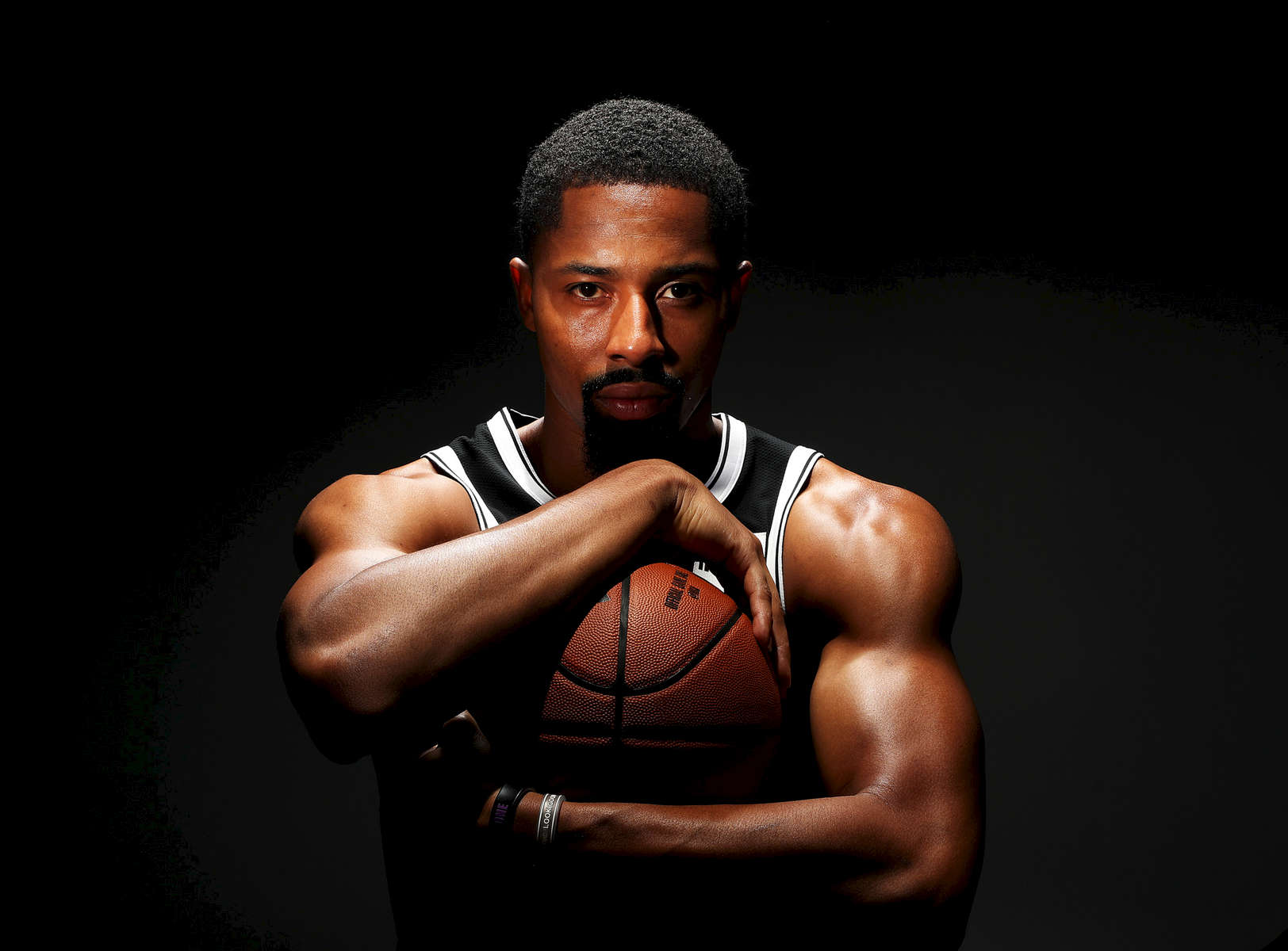 Spencer Dinwiddie of the Brooklyn Nets poses for a portrait during Media Day at HSS Training Center on September 27, 2019 in New York City.