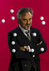 Golf Personality David Feherty Poses in New York City on December 3, 2015