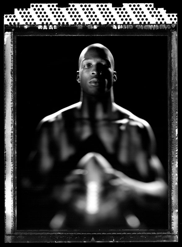 Chad Ochocinco of the Cincinnati Bengals poses during a portrait shoot on June 14, 2005 in Washington, DC.
