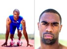 Olympic sprinter Tyson Gay of the United States of America poses for a portrait at the National Training Center on June 14, 2010 in Clermont, Florida.