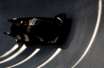 United States in action during Bobsleigh practice ahead of the PyeongChang 2018 Winter Olympic Games at Olympic Sliding Centre on February 8, 2018 in Pyeongchang-gun, South Korea.