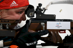 Denise Herrmann of Germany practices ahead of the Women's Biathlon 7.5km Sprint on day one of the PyeongChang 2018 Winter Olympic Games at Alpensia Biathlon Centre on February 10, 2018 in Pyeongchang-gun, South Korea.