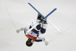 Morgan Schild of the United States competes during the Freestyle Skiing Ladies' Moguls Final on day two of the PyeongChang 2018 Winter Olympic Games at Phoenix Snow Park on February 11, 2018 in Pyeongchang-gun, South Korea.