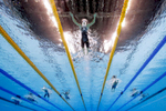 Katinka Hosszu of Hungary competes in the Final of the Women's 400m Individual Medley on Day 1 of the Rio 2016 Olympic Games at the Olympic Aquatics Stadium on August 6, 2016 in Rio de Janeiro, Brazil.