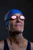 Senior swimmer Marie Degennaro aged Fifty Nine poses for a portrait during the Huntsman World Senior Games on October 10, 2019 in in St.George Utah.