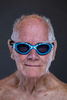 Senior Swimmer John Wyness aged eighty seven poses for a portrait during the Huntsman World Senior Games on October 10, 2019 in in St.George Utah.