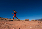 Senior athlete Russell Otani  competes in the Trail Race during the Huntsman World Senior Games on October 12, 2019 in St. George, Utah.